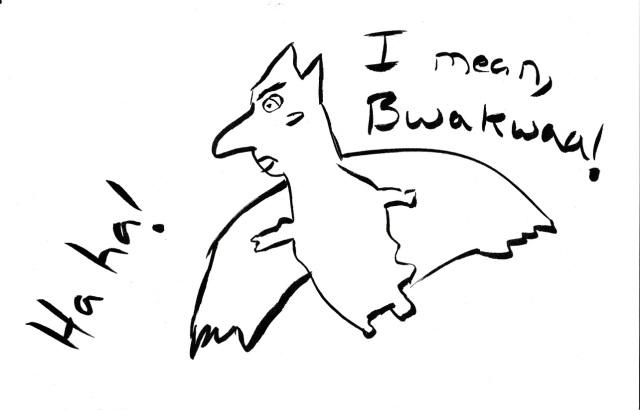 Human Bird Man