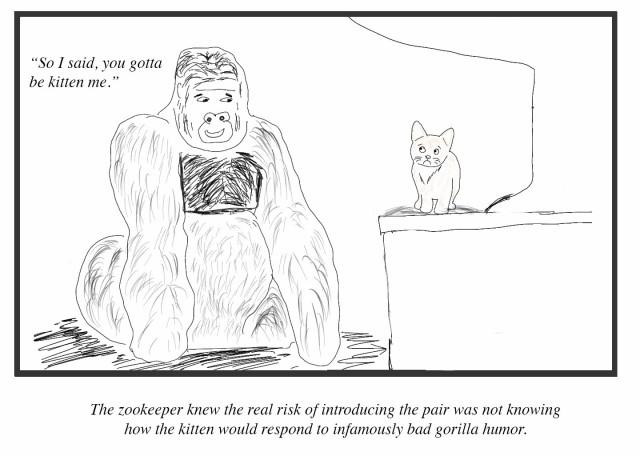 gorilla humor