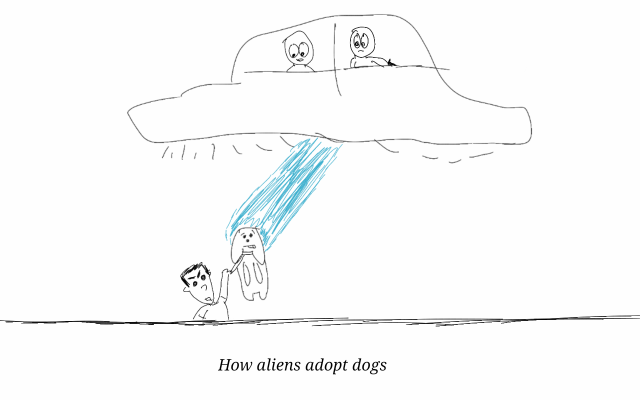 alien dog adoption