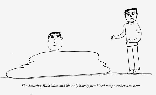 blob man