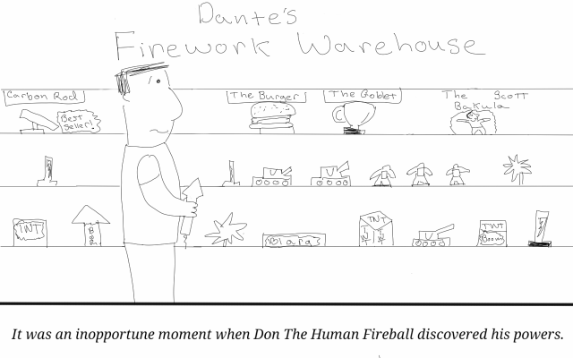 human Fireball 3