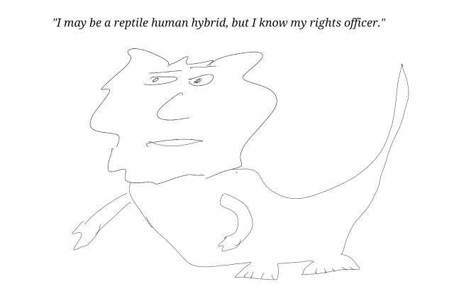 reptile human