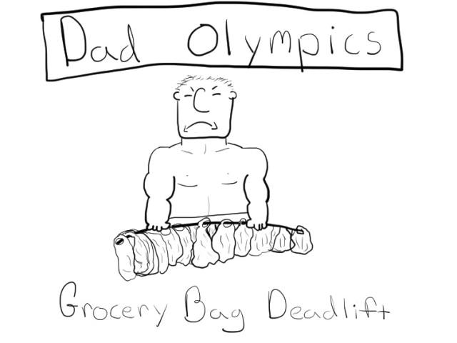 dad olympics