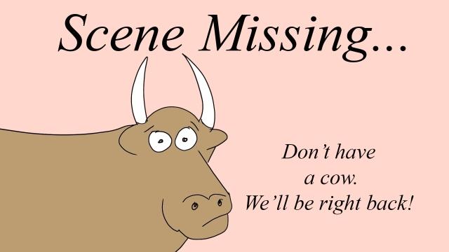 scene missng cow
