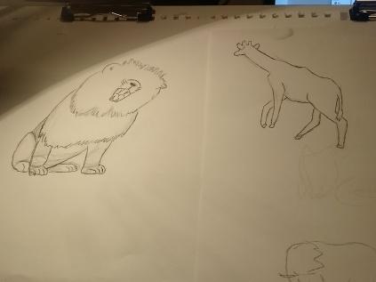 zoo-sketch