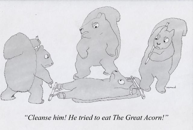 the great acorn greyjpg